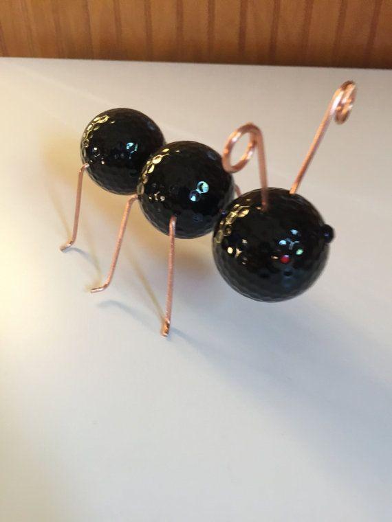 Golf Ball Ant Gold Ball Art Golf Ball Ants Golf Ball
