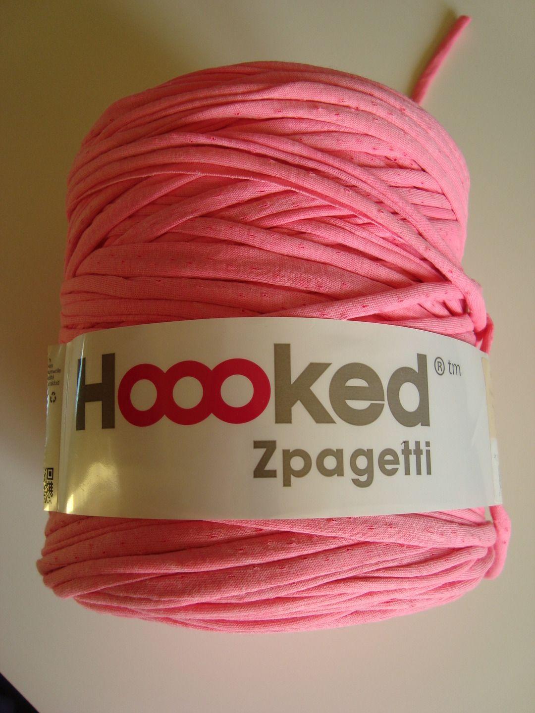 Pelote 800 G De Fil Ruban Jersey Hooked Zpagetti A Tricoter Ou Crocheter Rose Elastique Resistant Et Durable Issu Fils Par Madisson Avec Images Zpagetti Tricot Pelote