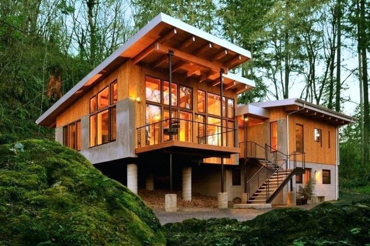 Modern Contemporary Cabins Designs Google Search Tiny Modern House Plans Cottage Style House Plans Modern Style House Plans