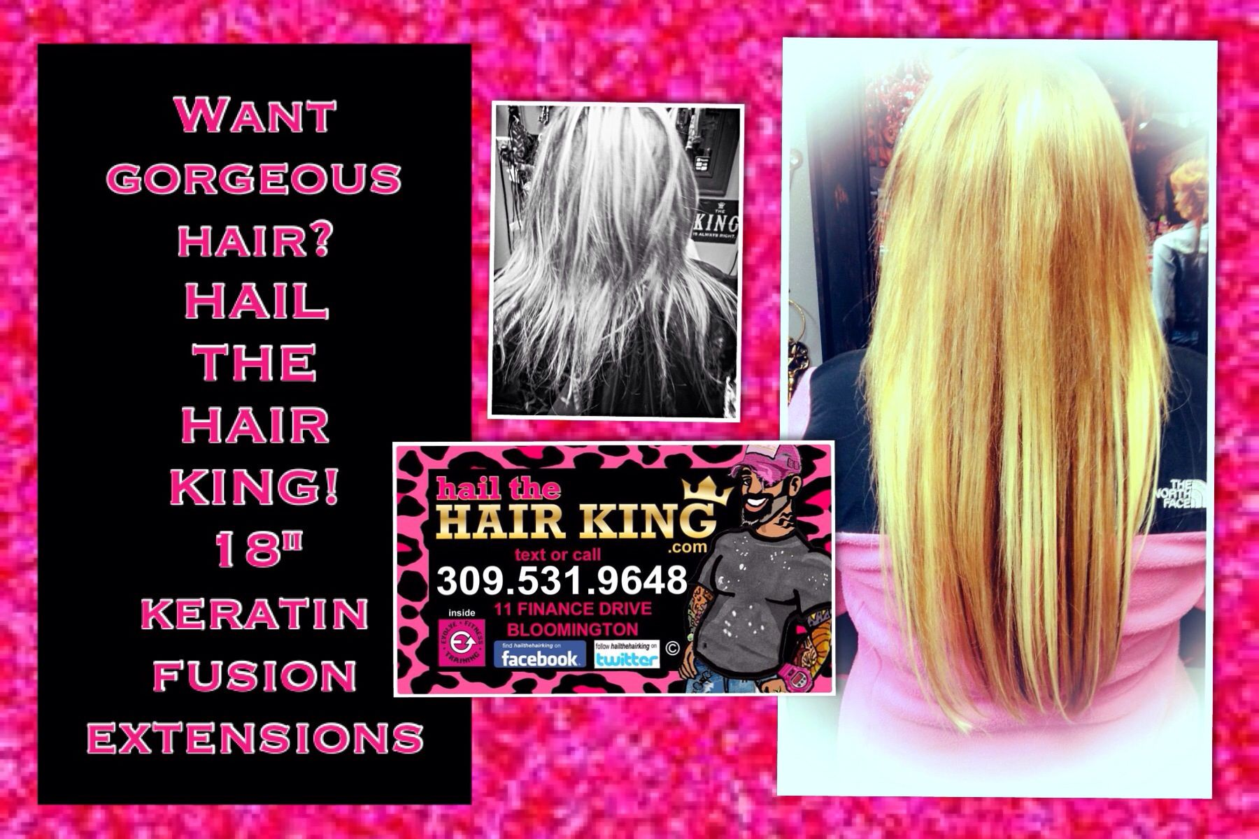 Want Gorgeous Hair Hail The Hair King 18 Keratin Fusion