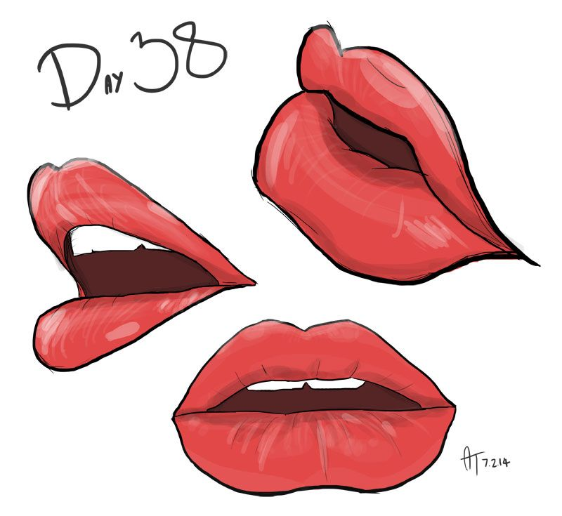 Daily Doodle 38 Some Lips Never Been Good At These So I Might