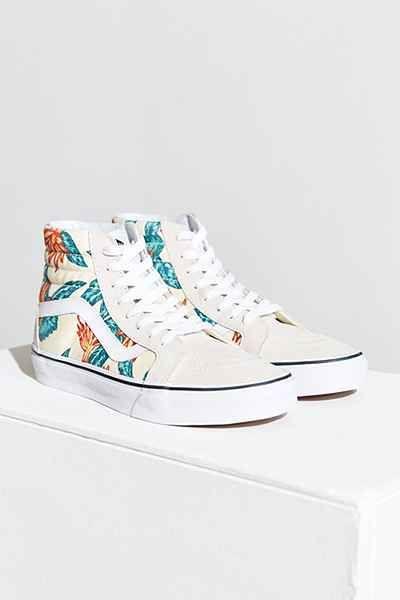 d1bd2ce35ef Vans Sk8-Hi Reissue Vintage Aloha Sneaker