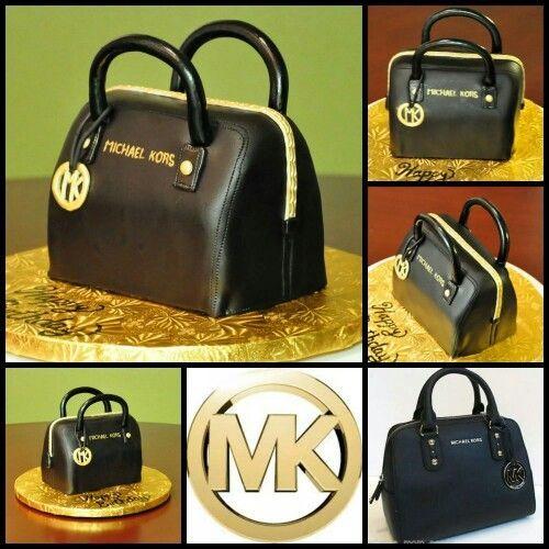 Purse cake #Michael Kors Diese und weitere Taschen auf www