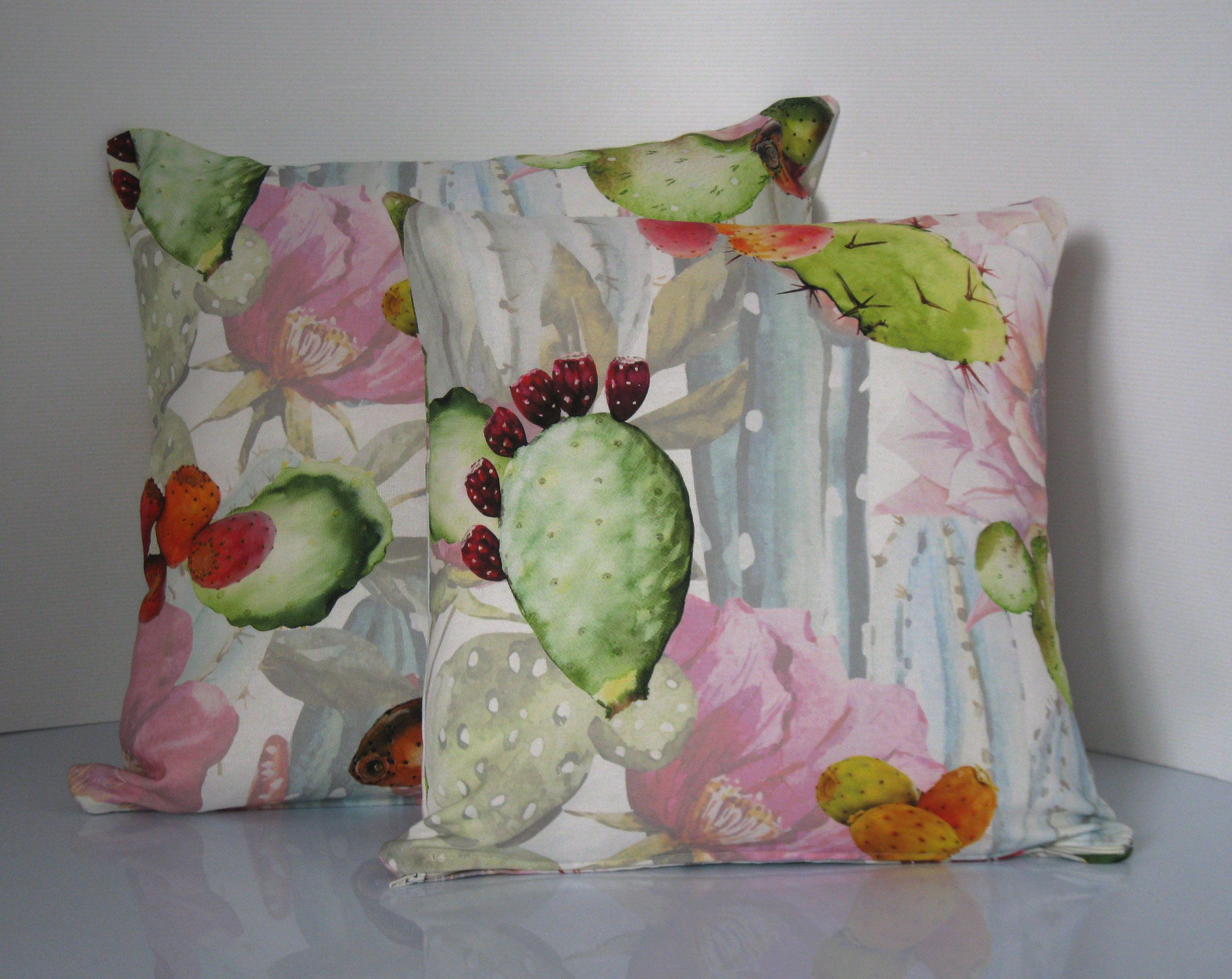 Cuscino arredo in velluto con ricami e nappine Susan 40x40 cm cuscini arredo