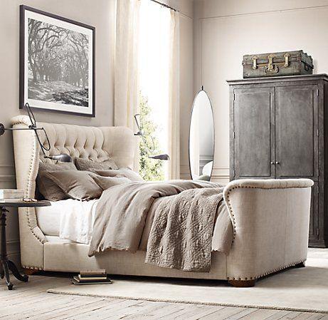 Rooms Restoration Hardware Churchill Bed