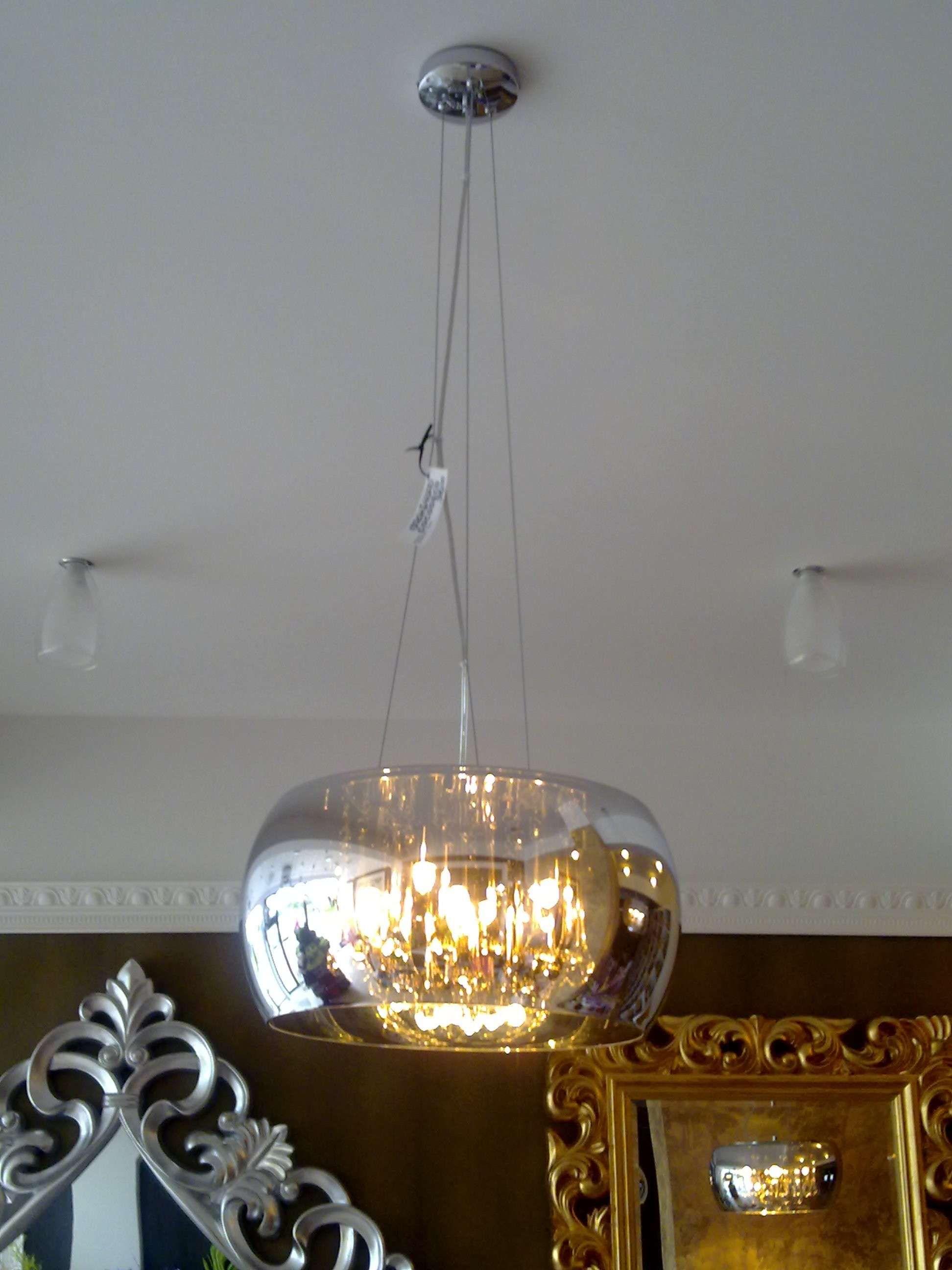 Dekoracyjna Lampa Wisząca Crystal P0076 03e F4fz Zumaline