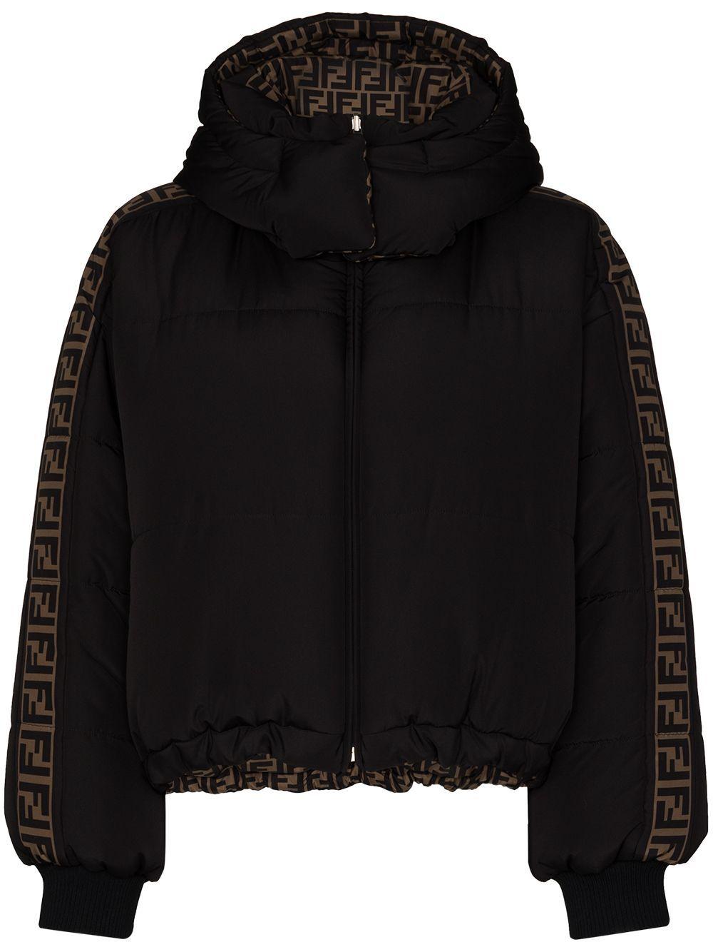 Fendi Chamarra Capitonada Con Motivo Ff Farfetch Puffer Jackets Women Shopping Quilted Puffer Jacket [ 1334 x 1000 Pixel ]