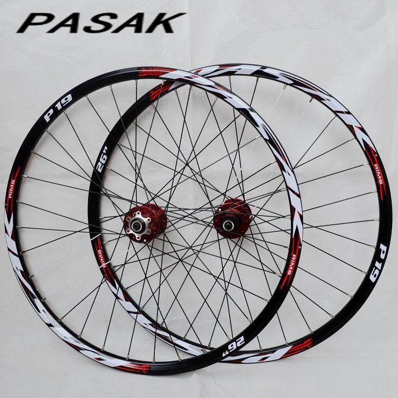 Pasak P01 26inch Mtb Mountain Bicycle Bike Cnc Front 2 Rear 4