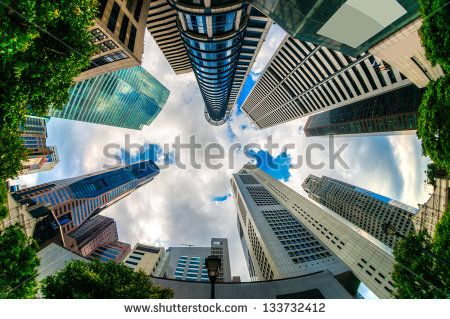 Singapore Skyline Stock Photos, Images, & Pictures