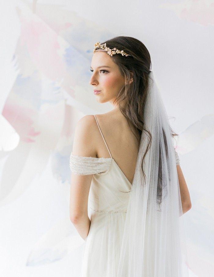 Brautfrisuren Mit Schleier Vintage Hochzeitsideen Junge Braut