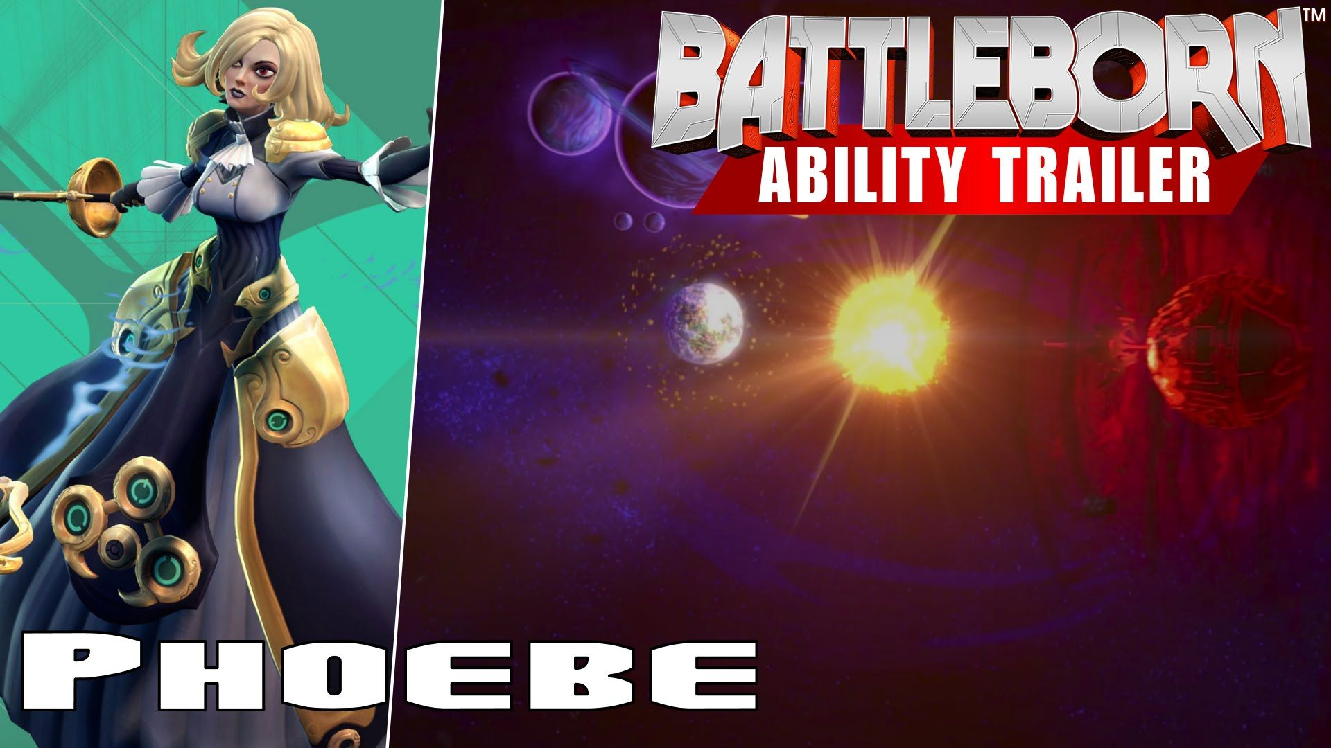 Battleborn Phoebe Ability Trailer