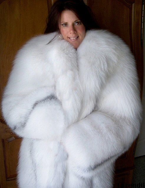For The Love Of Fur | White Furs | Pinterest | Fox fur coat, Fur ...
