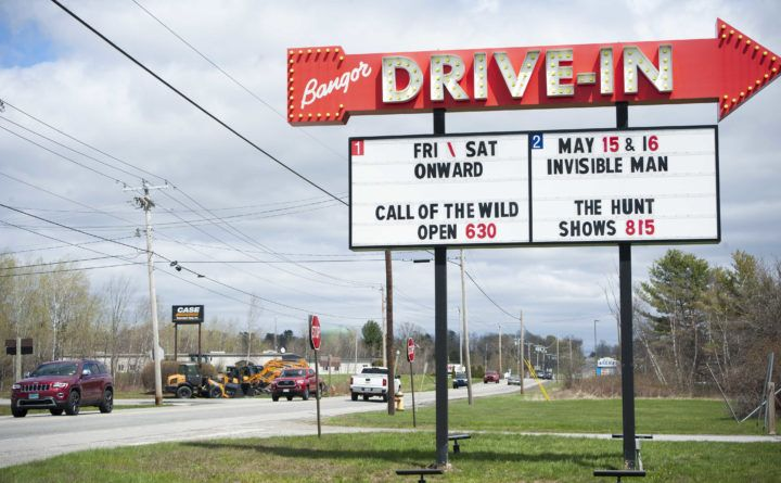 Drivein movie theaters offer a bright spot in a darkened