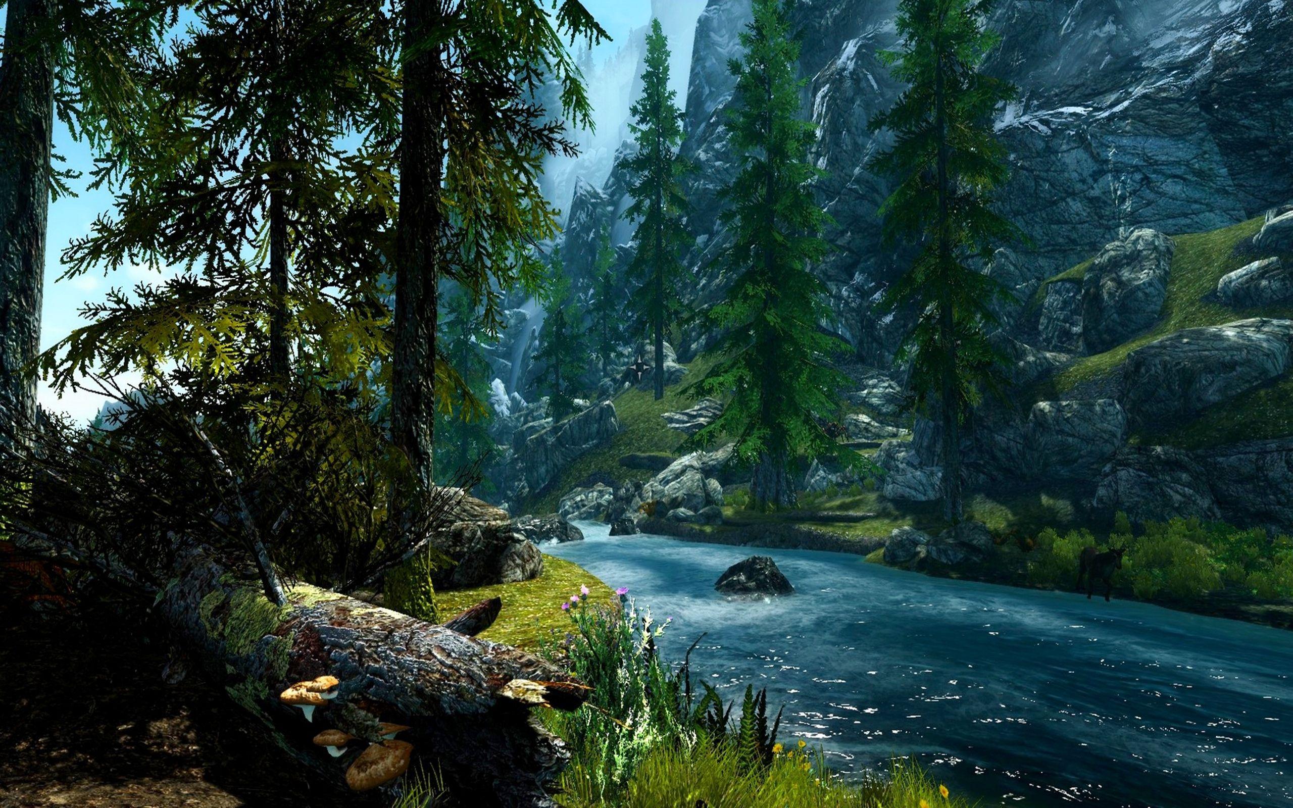 Forest River Wallpaper High Definition #lBT | Earth | Pinterest ...