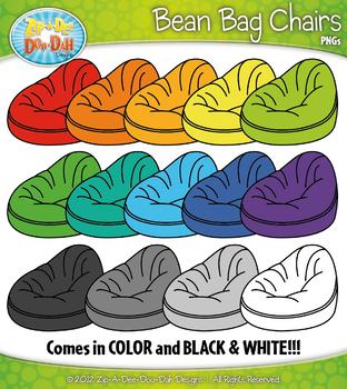 Free Rainbow Bean Bag Chairs Clipart Zip A Dee Doo Dah Designs In 2020 Rainbow Bean Bags Clip Art Bean Bag
