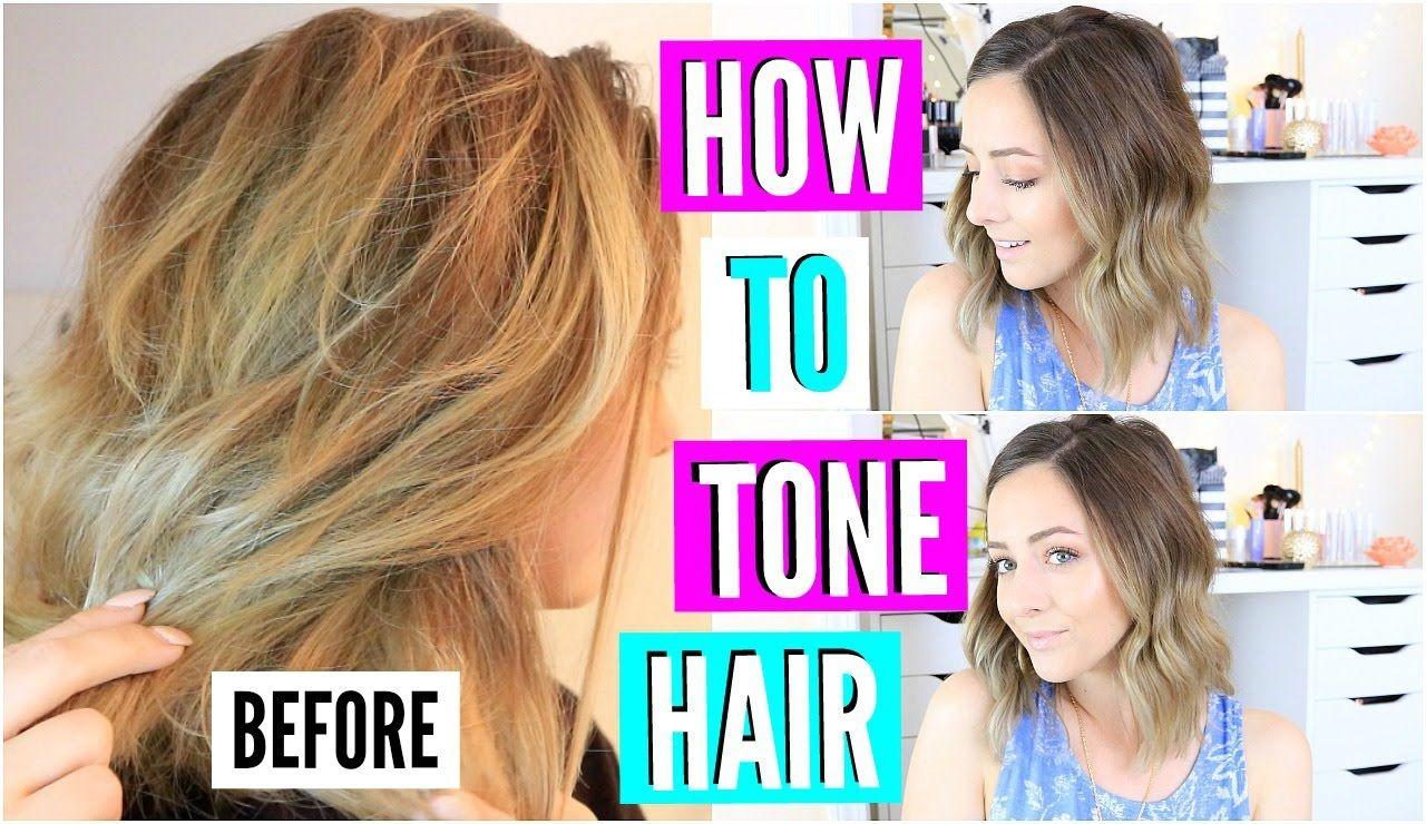 Diy hair toner for brassy blonde hair youtube hair