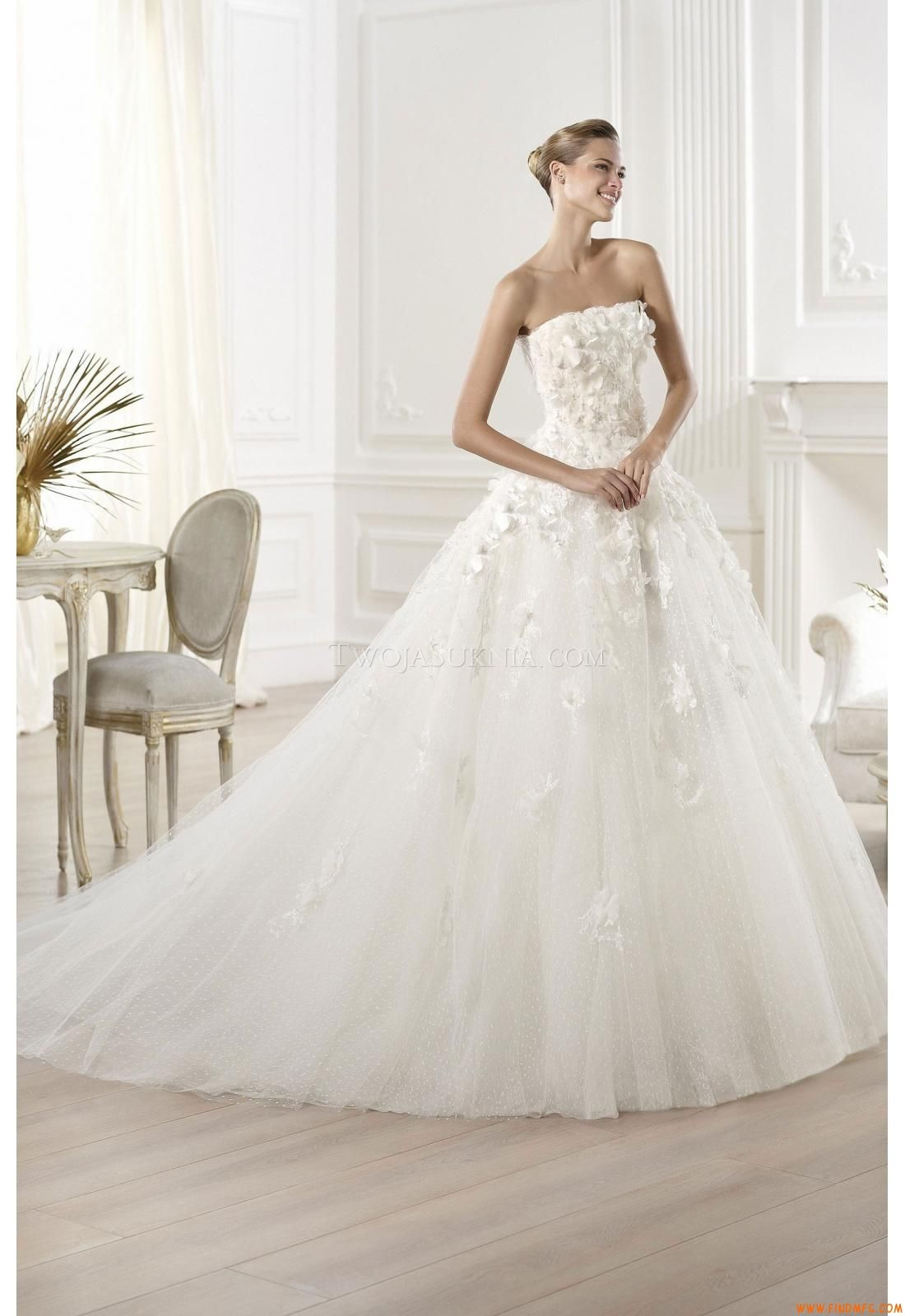 Vestidos de noiva Pronovias Mensa Elie by Elie Saab 2014