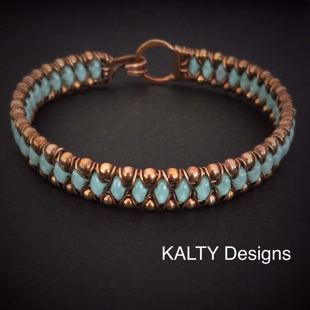Wire weave bangle by KALTY Designs More | Jewelry - Wirework ...