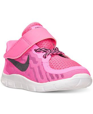 Nike Toddler Girls  Free 5.0 Running Sneakers from Finish Line - Finish  Line Athletic Shoes - Kids   Baby - Macy s 4d828dc03
