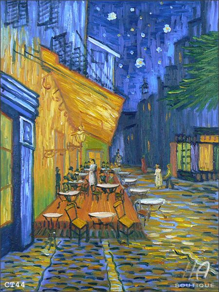 Vincent Van Gogh Cafe Terrace On The Place Du Forum Terrasse De