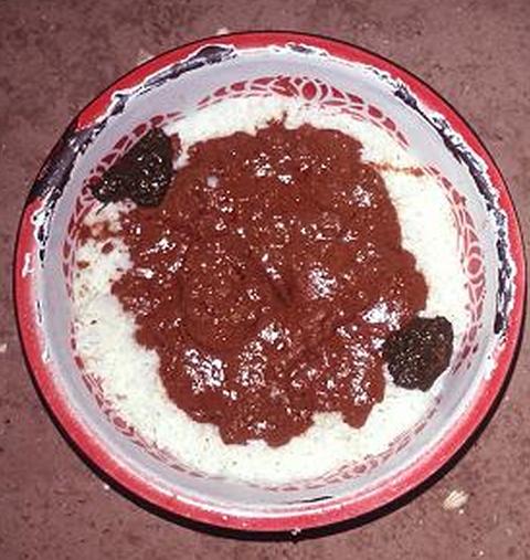 comida típica da africa