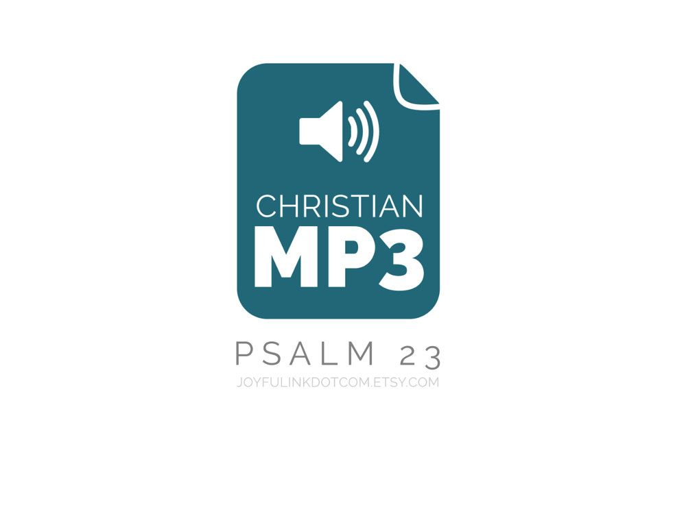 Psalm 23 MP3 Stress Relief for Christians Bible Verse