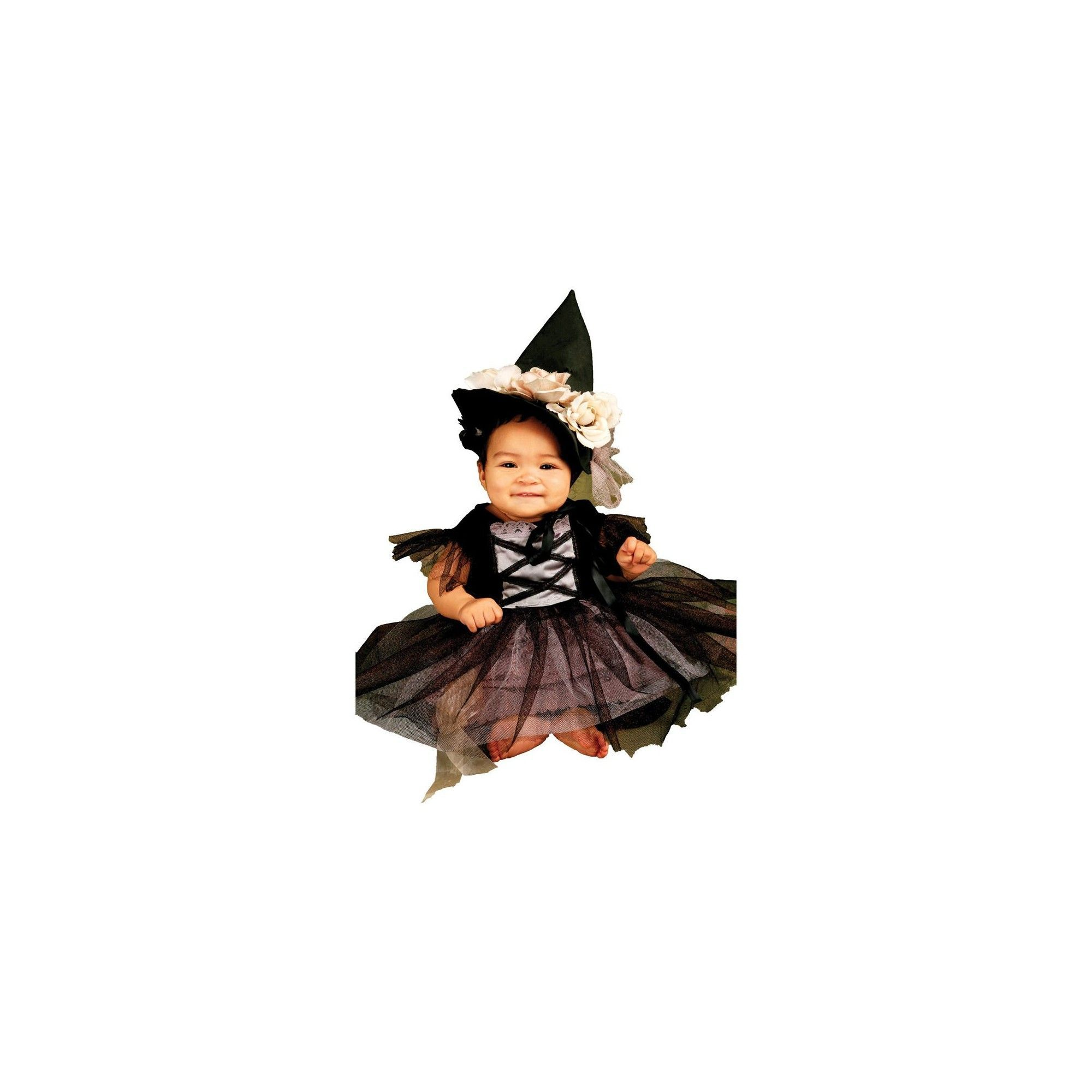 halloween baby/toddler lace witch costume 6-12m, toddler girl's