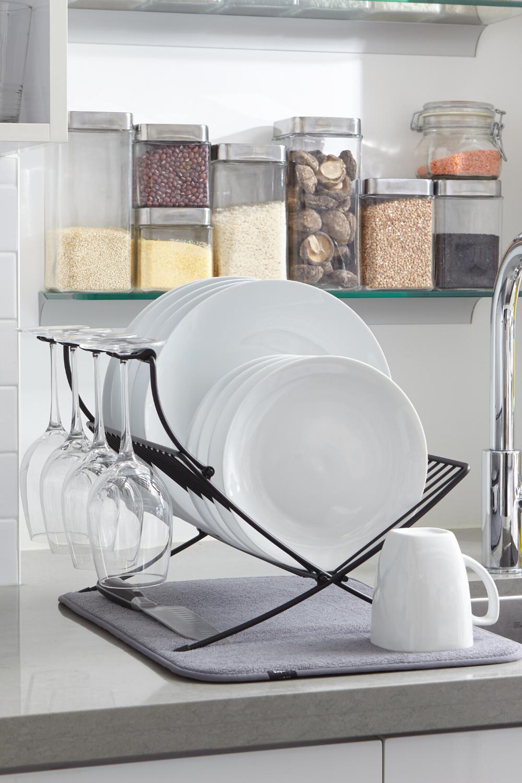 Xdry Folding Rack In 2020 Compact Storage Dish Drying Mat Dish Racks