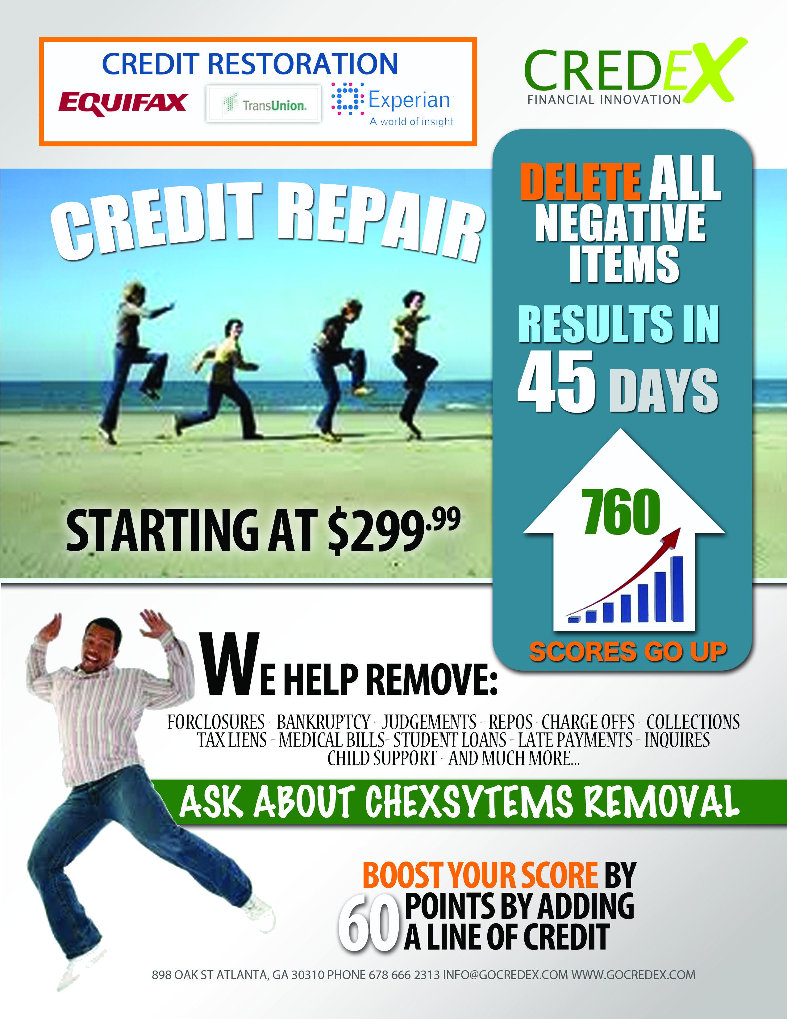 Credit Repair Flyer