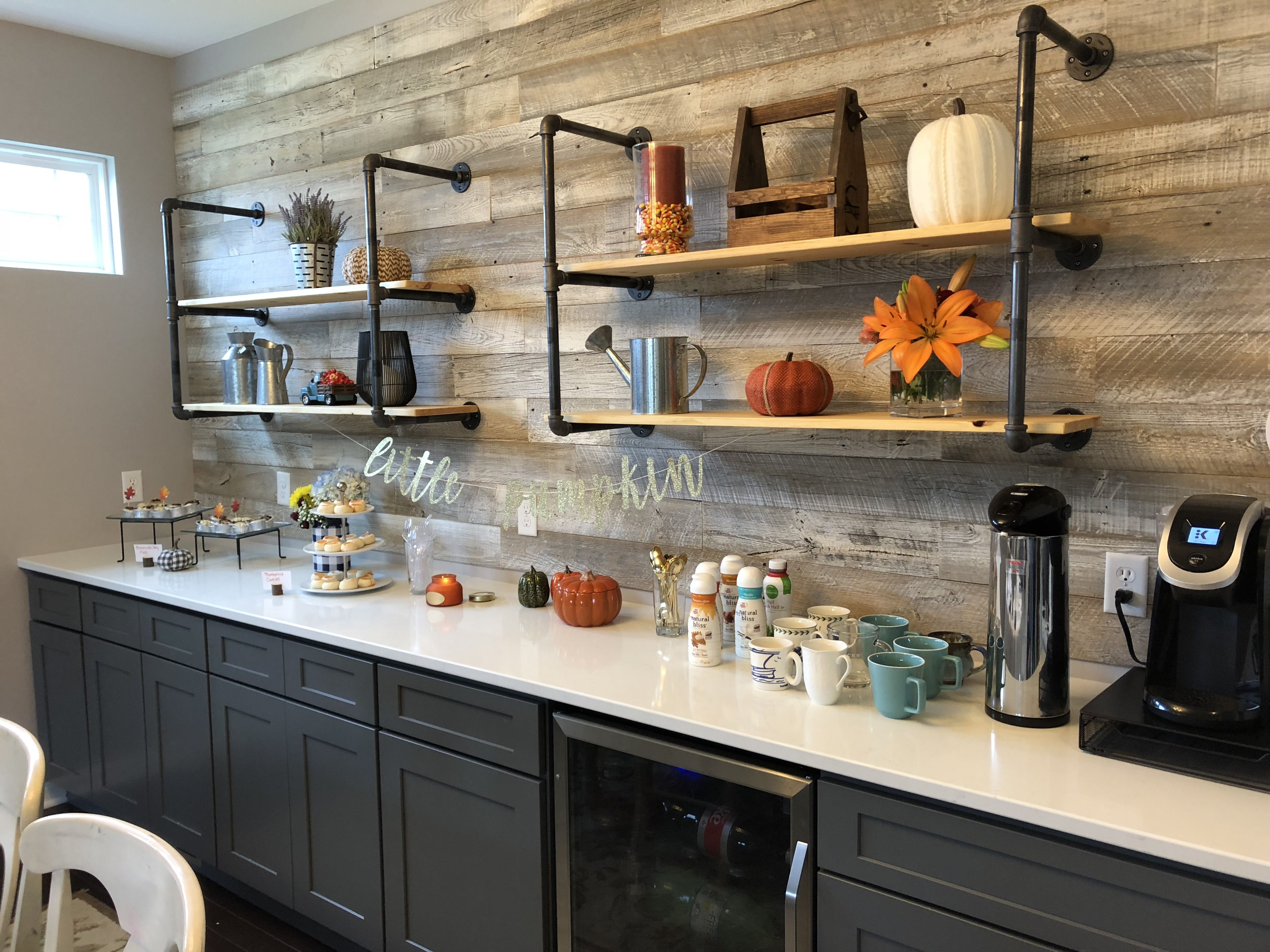 - We Love This Client's Quaint Little Coffee Bar With Our Reclaimed