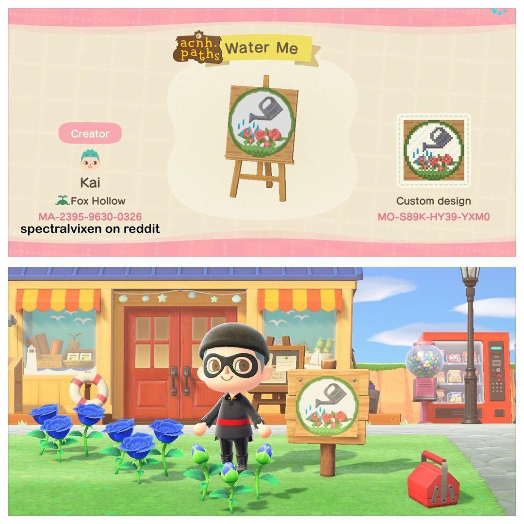 "Animal Crossing Patterns on Instagram ""A cute watering"