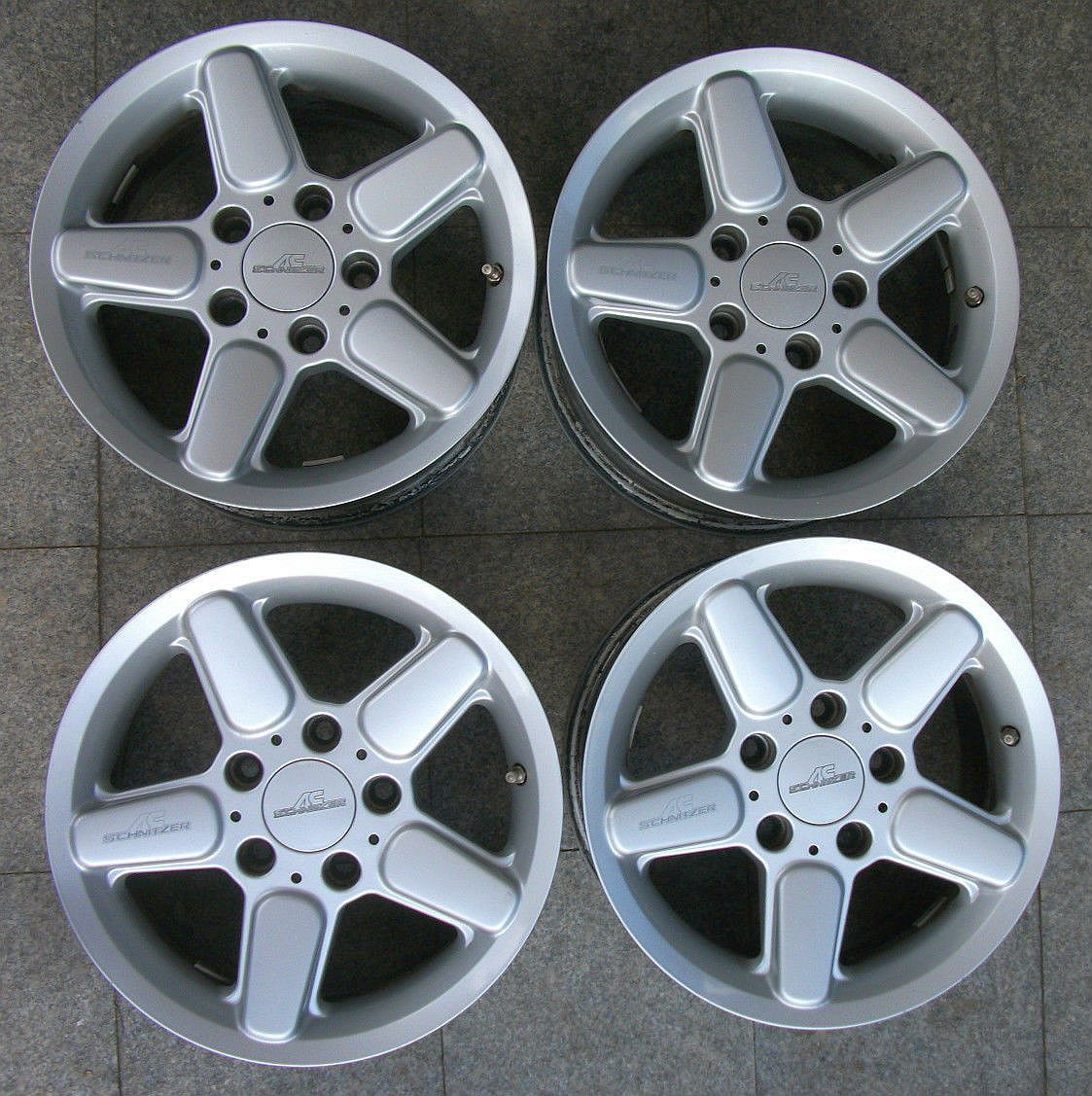 AC Schnitzer Wheels (Pre-owned BMW Silver Alloy Rims