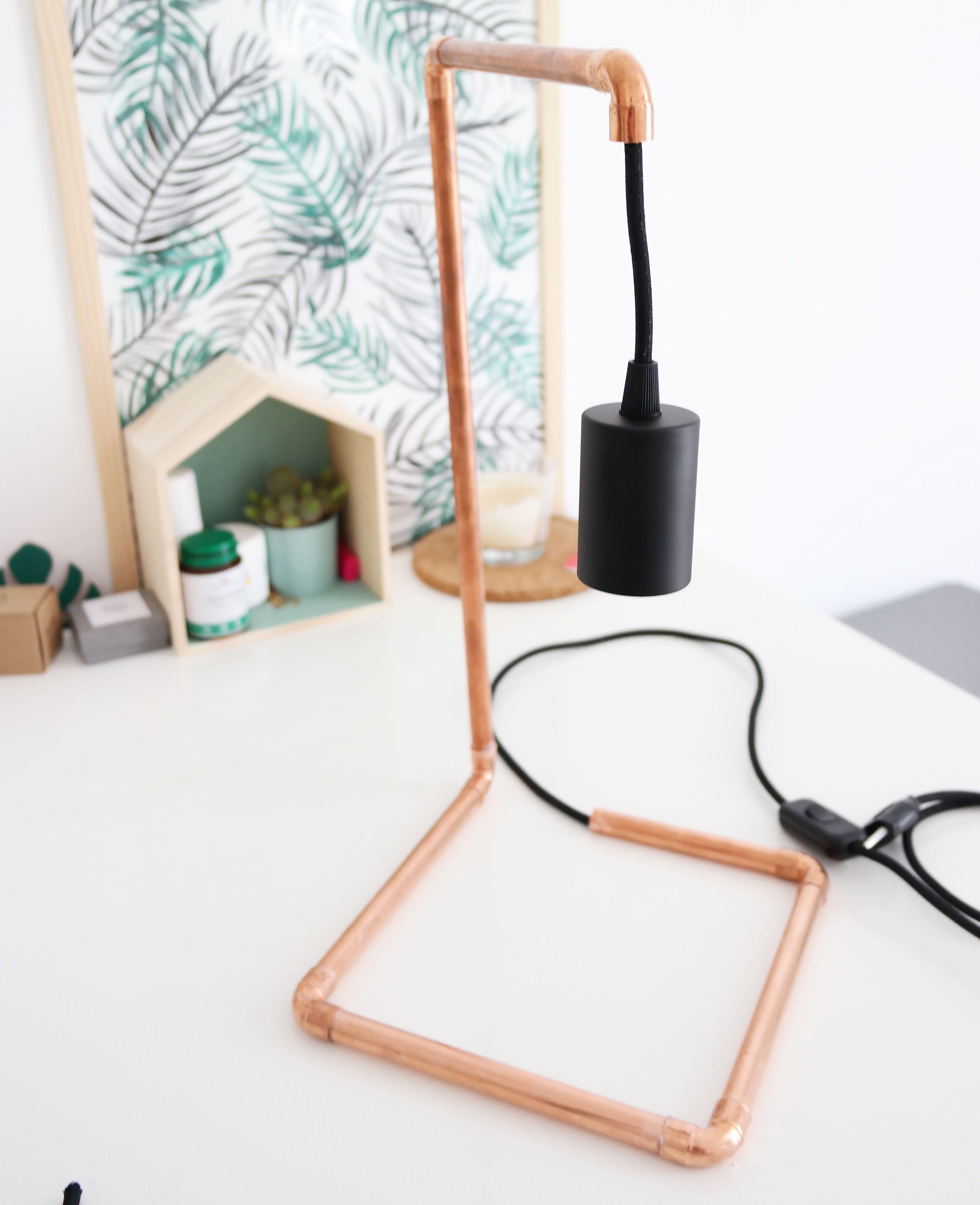 diy-lampe-cuivre | idées déco
