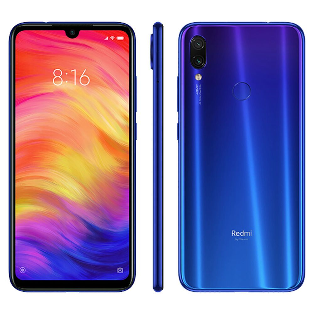 Xiaomi Redmi Note 7 6 3 Inch 4g Lte Smartphone Snapdragon 660 6gb 64gb 48 0mp 5 0mp Dual Ai Cameras Miui 10 Type C Quick Charge Ir Remote Control Blue Sony Mobile Phones Xiaomi Samsung Galaxy Phone