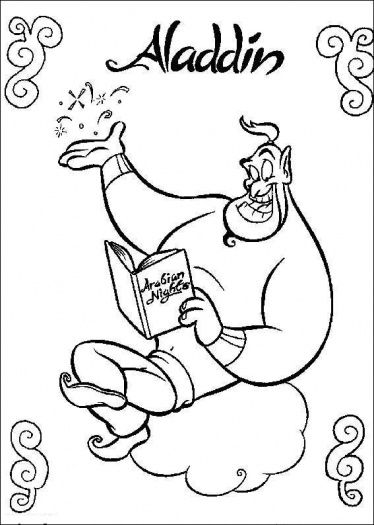 Aladdin Coloring Pages - Bing Images | Movies and crafts | Pinterest ...