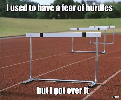 Funny Hurdle Pun Joke Meme Track Quotes Track And Field Hurdles Track