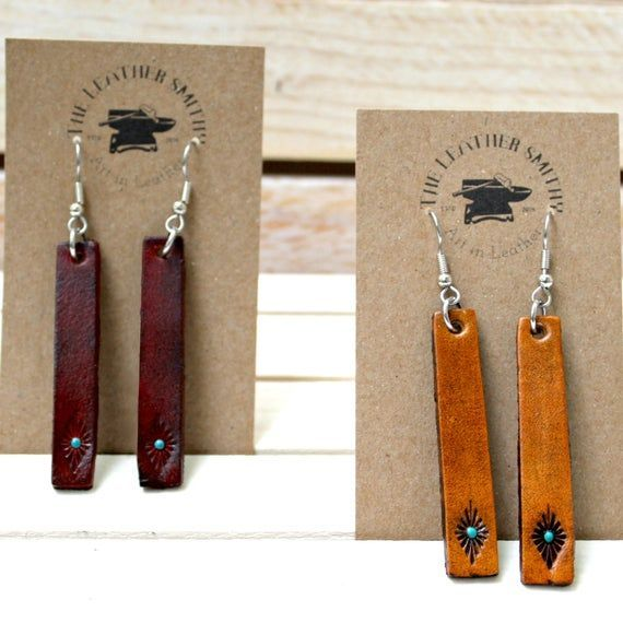 Photo of Leather Earrings
