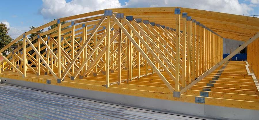 Curved Roof Truss Roof Truss Design Roof Trusses Wood Roof