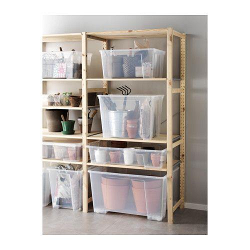 SAMLA Box   Clear   IKEA More Ikea Storage Bins, ...