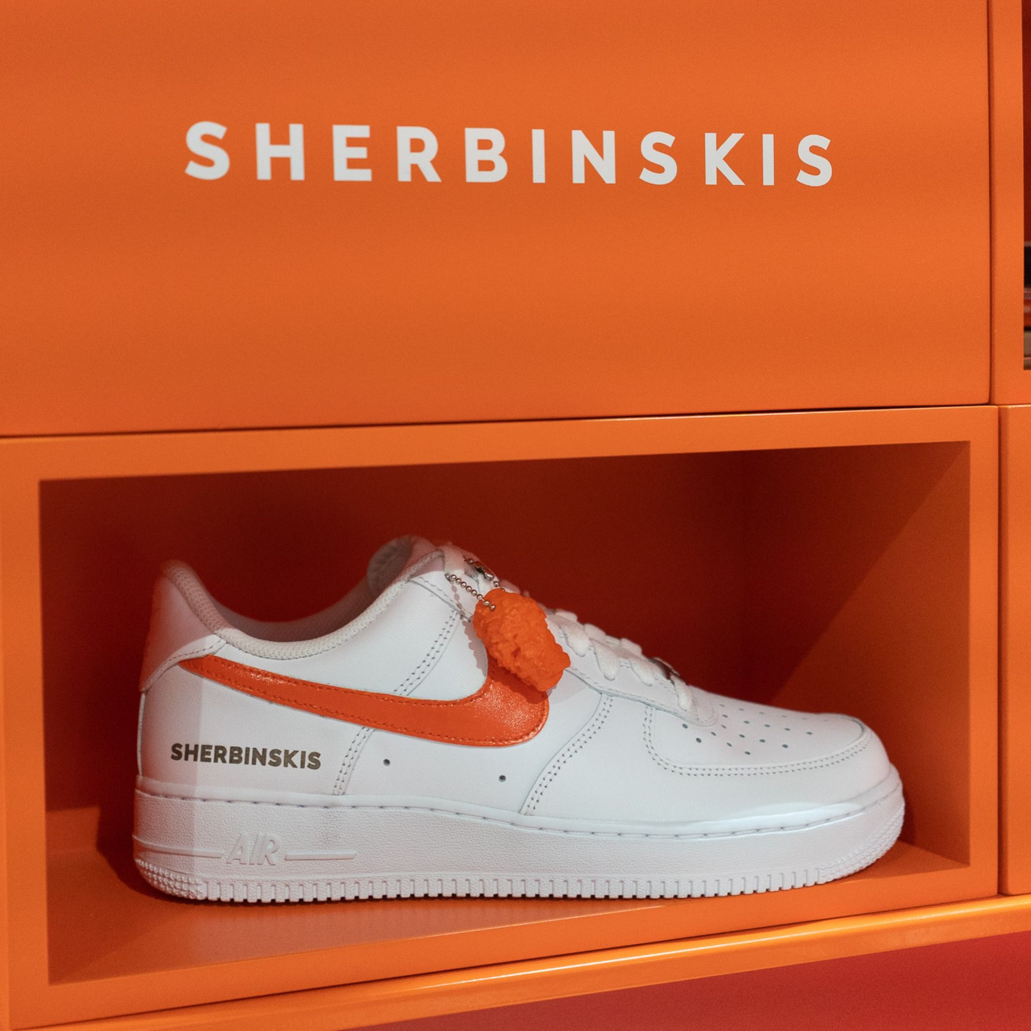 SHERBINSKIS Nike Air Force 1 Bespoke released exclusively