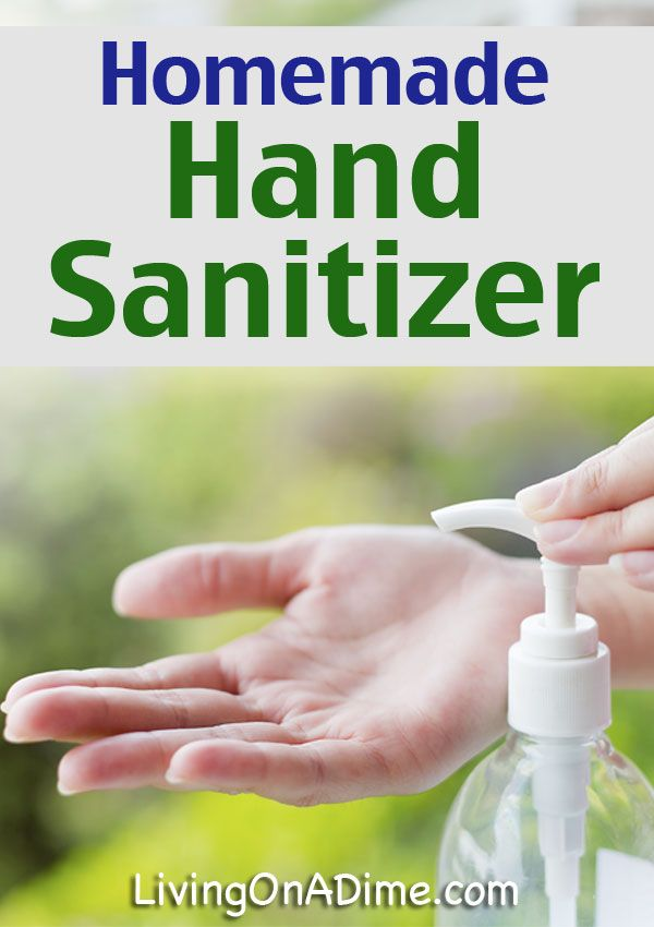 Homemade Hand Sanitizer Recipe Hand Sanitizer Homemade Diy