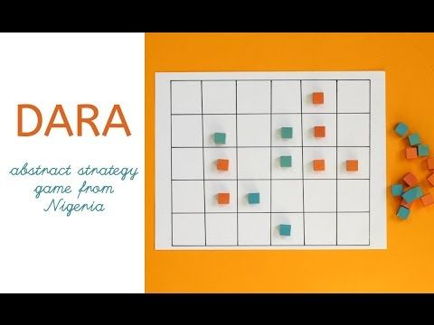 Dara Game: Nigerian 3 in a Row with a Twist