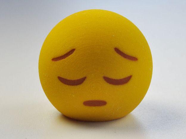 3d Emoji Feelin Down By Makemode On Emoji Learn A New Language Emoticon