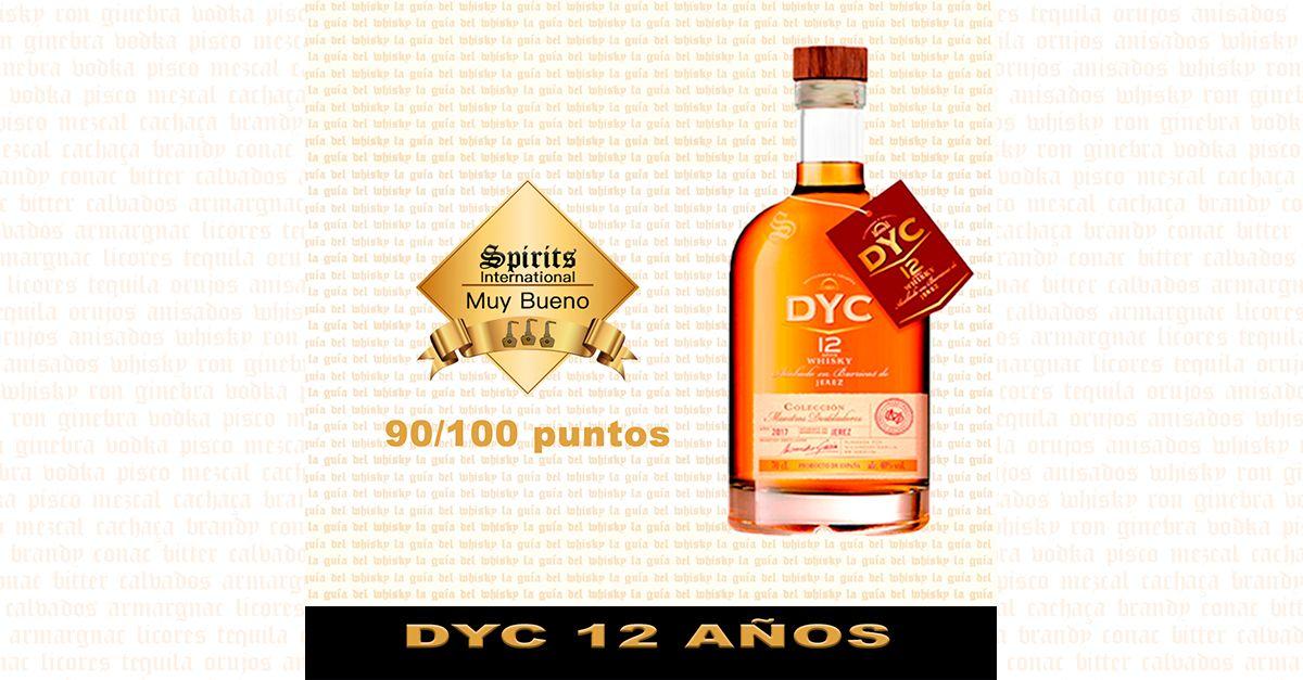DYC 12 AÑOS WHISKY BLENDED DE LUXE ESPAÑA SEGOVIA Whisky