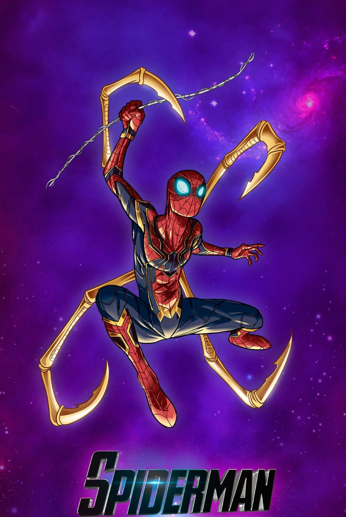 Iron Spider Man Marvel Spiderman Amazing Spiderman Marvel Cinematic