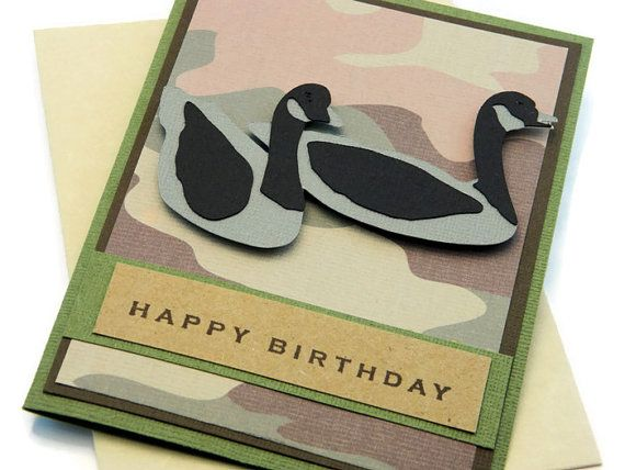 Camo birthday card gift card holder camouflage bday card camo birthday card gift card holder camouflage bday card card for dad cards for husband boyfriend card goose hunter bookmarktalkfo Image collections
