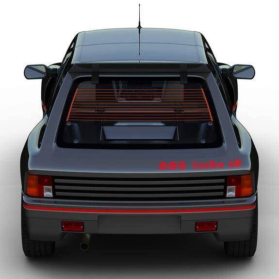 Peugeot 205 T16: