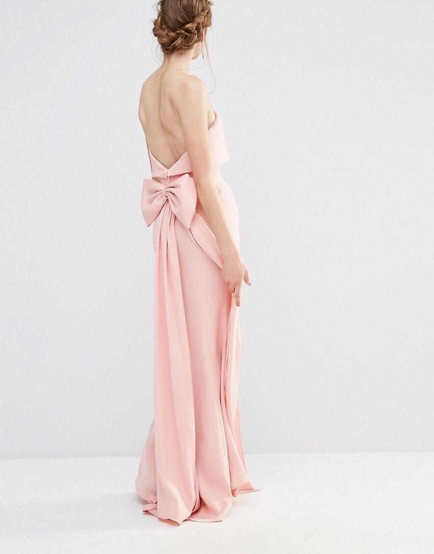 Imagen 4 de Vestido largo de boda con capa superpuesta y diseño con ...