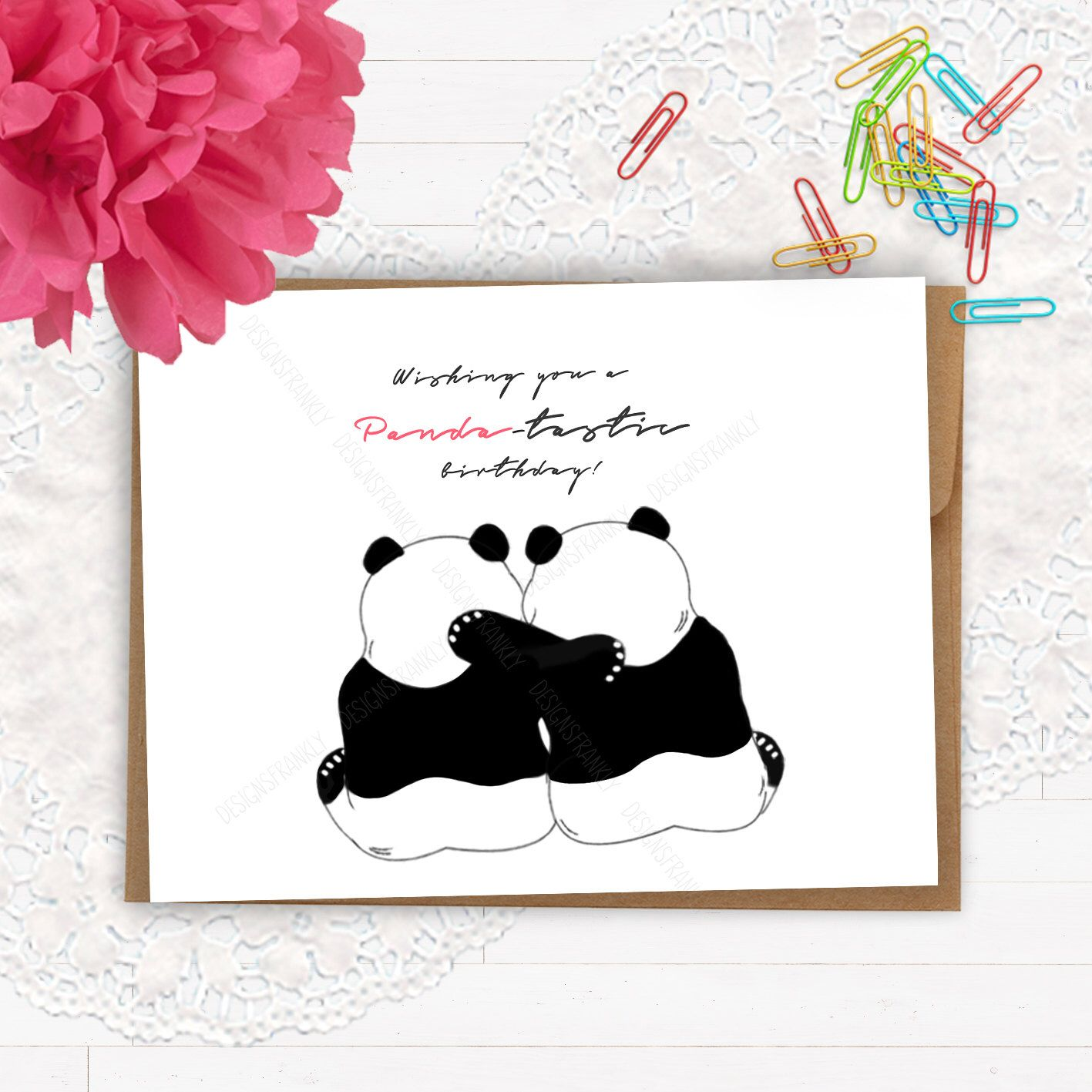 Funny unique birthday card panda pun card friend bestie panda unique funny unique birthday card panda pun card friend bestie panda unique greeting card pun punny birthday greeting card funny fun birthday card panda birthday bookmarktalkfo Image collections
