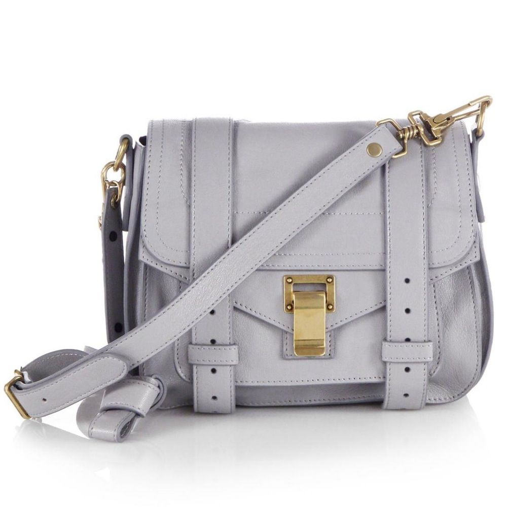 PS1 Pouch Leather Crossbody Bag by Proenza Schouler | Spring - Free Shipping. On Everything